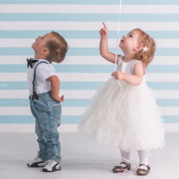 Ubrania dla chłopca i dziewczynki na lato.